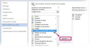 Comment creer ou exporter un fichier pdf sur excel